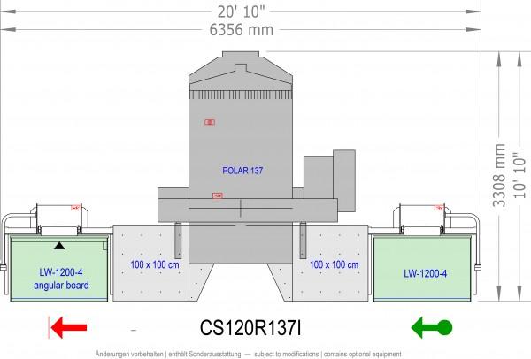 POLAR CuttingSystem 120, CS-120-R-137-i