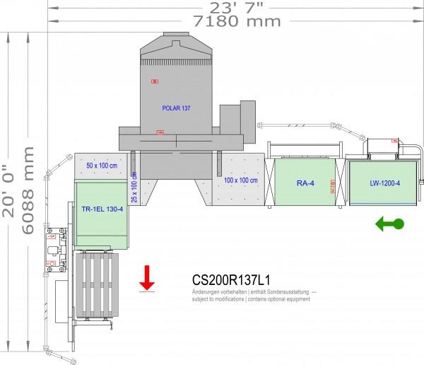 POLAR CuttingSystem 200, CS-200-R-137-L1