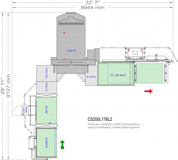 POLAR CuttingSystem 200, CS-200-L-176-L2