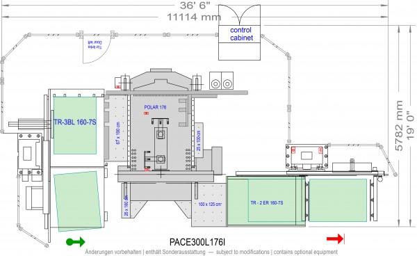 POLAR CuttingSystem PACE 300, PACE-300-L-176-i