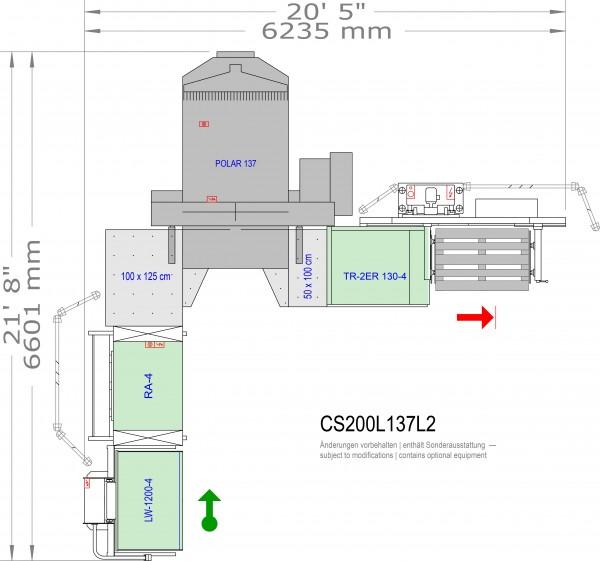POLAR CuttingSystem 200, CS-200-L-137-L2