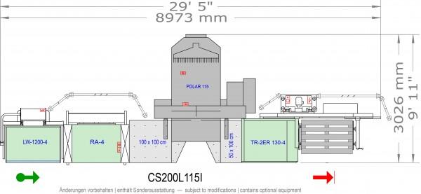 POLAR CuttingSystem 200, CS-200-L-115-i