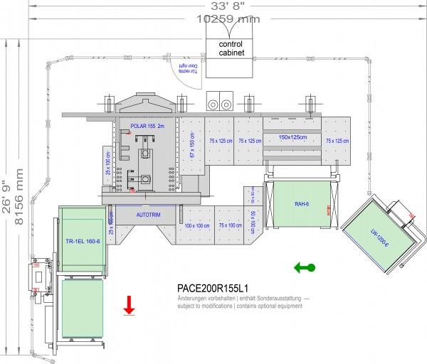 POLAR CuttingSystem PACE 200, CS-200R-155-L1