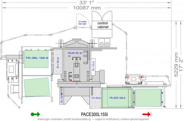POLAR CuttingSystem PACE 300, PACE-300-L-155-i