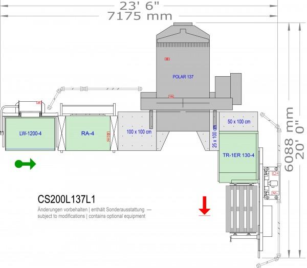 POLAR CuttingSystem 200, CS-200-L-137-L1