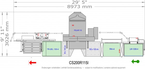 POLAR CuttingSystem 200, CS-200-R-115-i