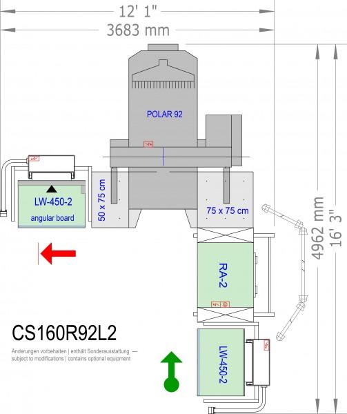 POLAR CuttingSystem 160 CS-160-R-92-L2