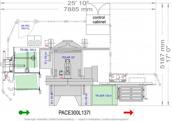 POLAR CuttingSystem PACE 300, PACE-300-L-137-i