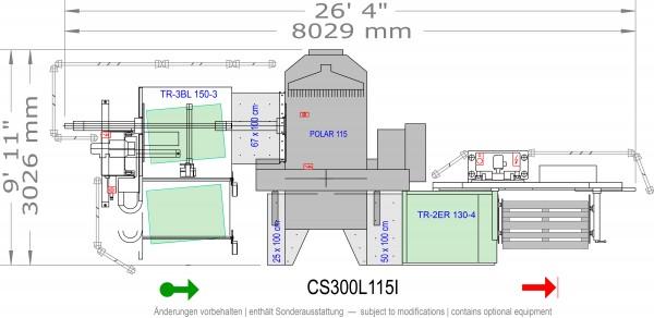 POLAR CuttingSystem 300, CS-300-L-115-i