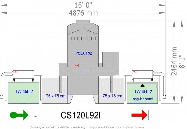 POLAR CuttingSystem 120, CS-120-L-92-i