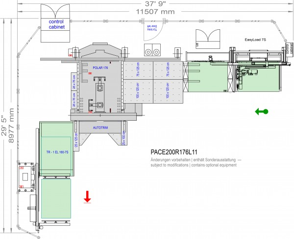 POLAR CuttingSystem PACE 200, CS-200-R-176-L11