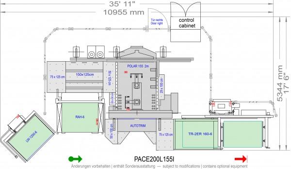 POLAR CuttingSystem PACE 200, PACE-200-L-155-i