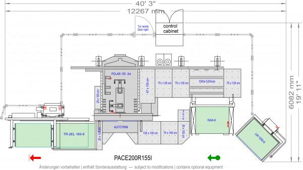POLAR CuttingSystem PACE 200, PACE-200R-155-i