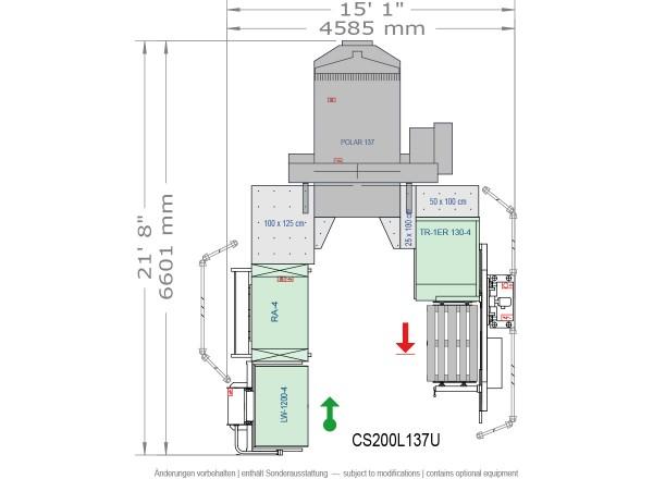 POLAR CuttingSystem 200, CS-200-L-137-U