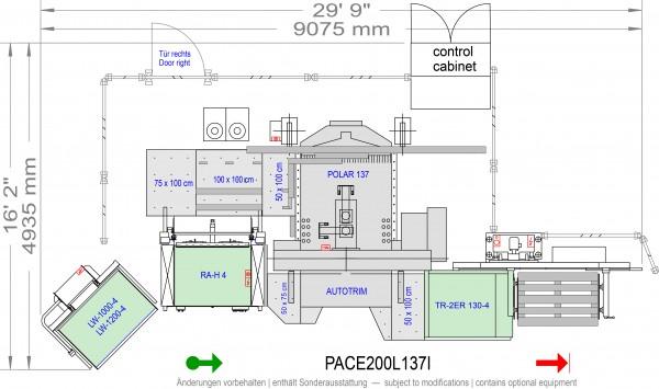 POLAR CuttingSystem PACE 200, PACE-200-L-137-i