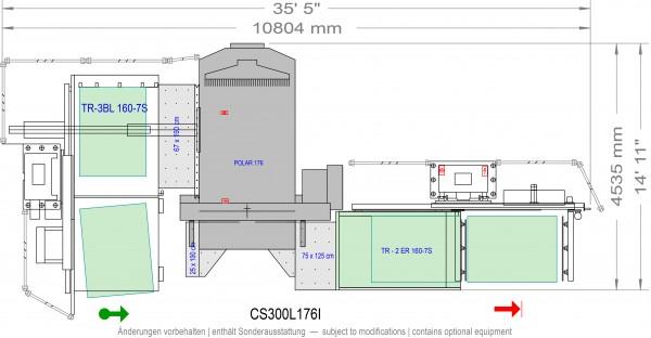 POLAR CuttingSystem 300, CS-300-L-176-i