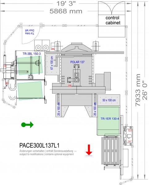 POLAR CuttingSystem PACE 300, PACE-300-L-137-L1