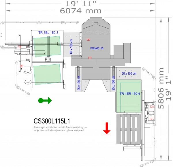 POLAR CuttingSystem 300, CS-300-L-115-L1