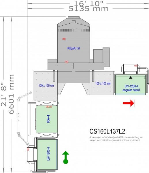 POLAR CuttingSystem 160 CS-160-L-137-L2