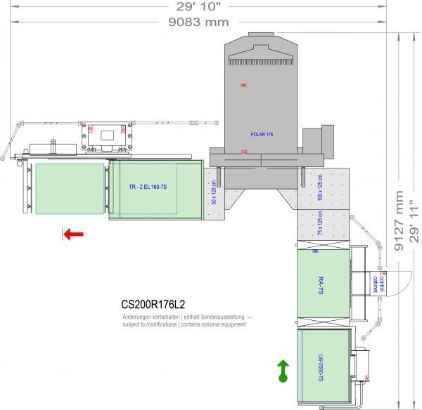 POLAR CuttingSystem 200, CS-200-R-176-L2