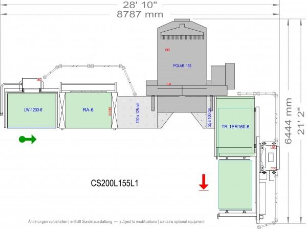 POLAR CuttingSystem 200, CS-200-R-155-L1