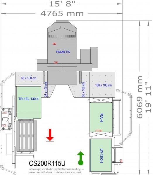 POLAR CuttingSystem 200, CS-200-R-115-U
