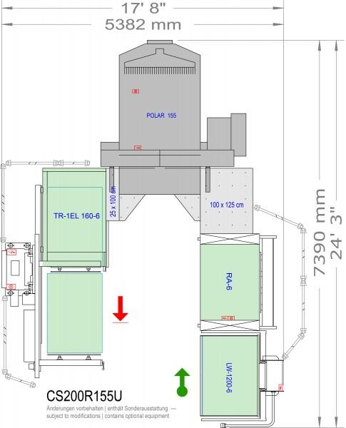 POLAR CuttingSystem 200, CS-200-R-155-U
