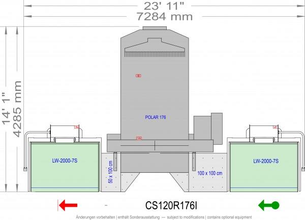 POLAR CuttingSystem 120, CS-120 R 176 i