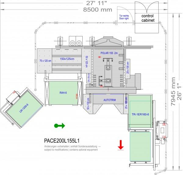 POLAR CuttingSystem PACE 200, CS-200-L-155-L1