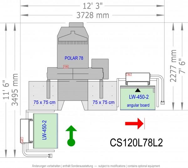 POLAR CuttingSystem 120, CS-120-L-78-L2