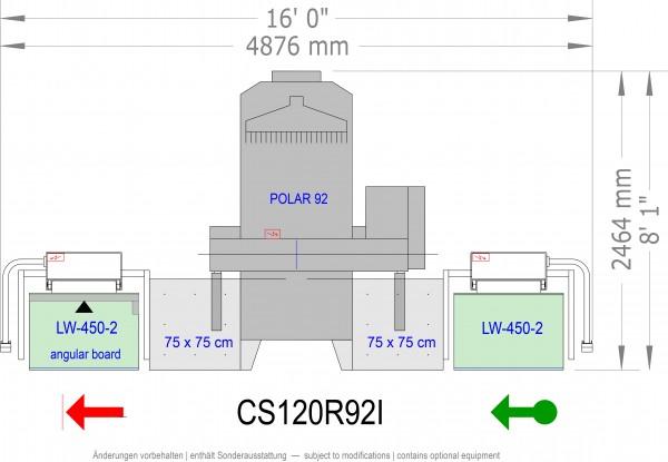 POLAR CuttingSystem 120, CS-120-R-92-i