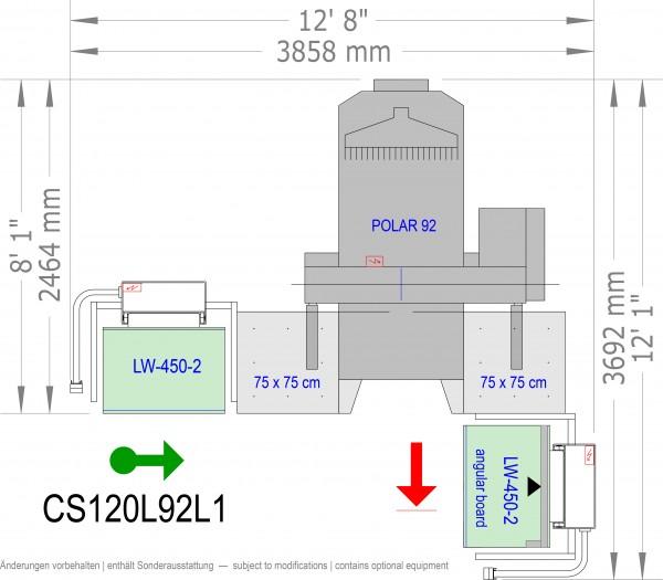 POLAR CuttingSystem 120, CS-120-L-92-L1