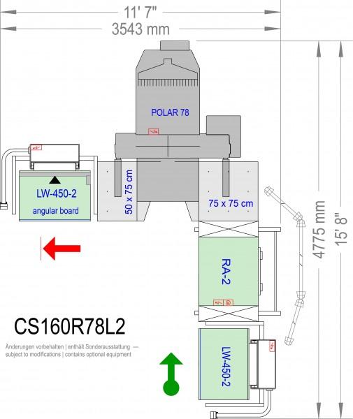 POLAR CuttingSystem 160 CS-160-R-78-L2
