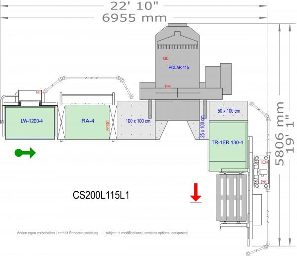POLAR CuttingSystem 200, CS-200-L-115-L1