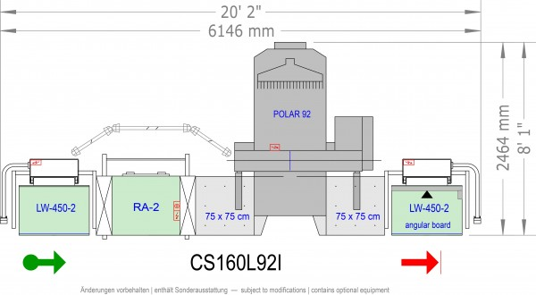 POLAR CuttingSystem 160, CS-160-L-92-i