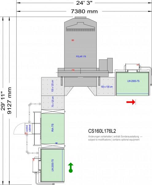POLAR CuttingSystem 160 CS-160-L-176-L2