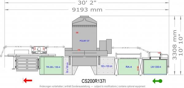 POLAR CuttingSystem 200, CS-200-R-137-i